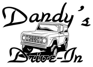 Dandy's Drive-In Bronco Shirt Design Left Chest