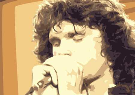 Jim Morrison Artwork