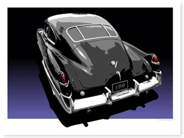 1949 Cadillac Artwork
