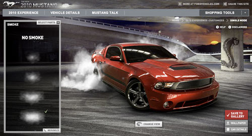 mustang-customizer-smoke-red