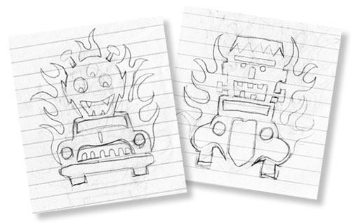 Stencil Sketches