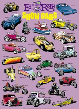 Ed Big Daddy Roth S Show Car Poster Automotive Artwork