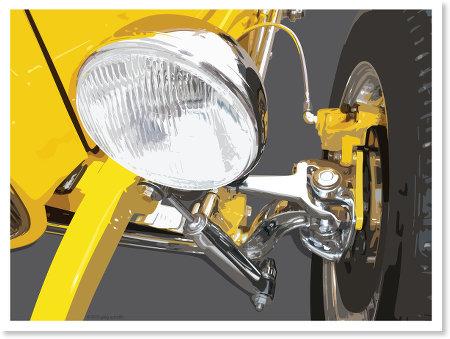 Hot Rod Headlight