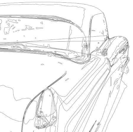 Cadillac Wireframe