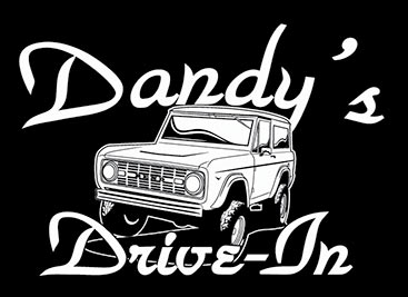 Dandy's Drive-In Bronco Black Shirt Design Left Chest