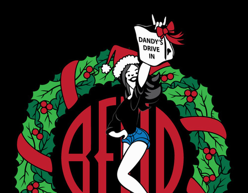 Dandy's Christmas Artwork