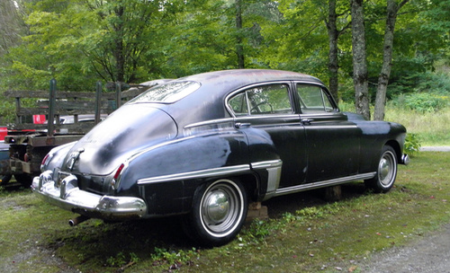 1949 Olds 76 Fastback Town Sedan Photo
