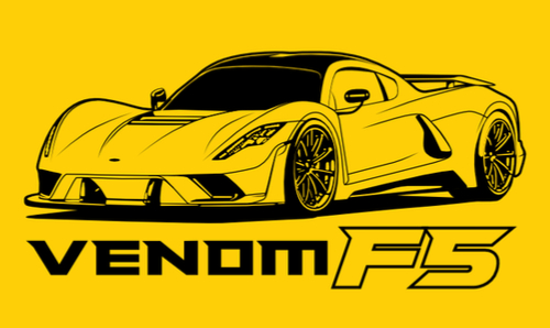 Hennessey Venom F5 Artwork